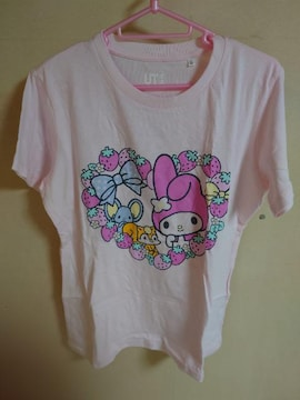 新品 ユニクロ マイメロディ Tシャツ サイズL