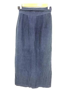 Jurgen Lehl(ヨーガンレール)リネン巻きスカート巻きスカート