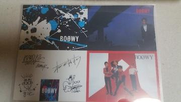 送料無料/BOOWY激レア!オフィシャルポストカード4枚セット 非売品