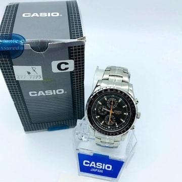 CASIO カシオ クオーツ 腕時計 クロノグラフ MTP-4500D ブラ