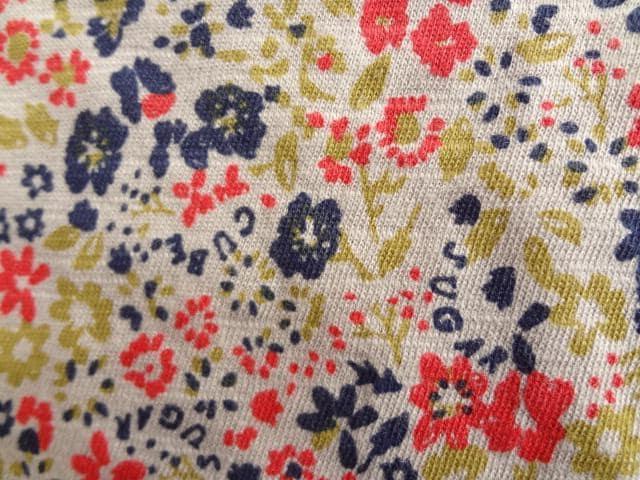新品 定価3800円 キューブシュガー 花柄 ロンT 長袖 Tシャツ < ブランドの