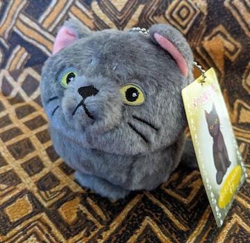 メアリと魔女の花/ギブ/猫/ねこ/ネコ/マスコット/ぬいぐるみ/ポンポンキーホルダー