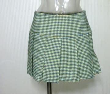EMS★チェック柄 プリーツ ミニスカート