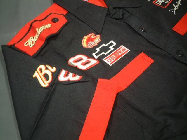 ★激安★NASCAR★Budweiser★ピットシャツ★黒★XL★新品★SALE < 自動車/バイク