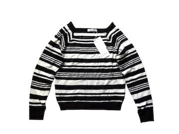 新品 定価4980円 エゴイスト EGOIST ボーダー ニット セーター