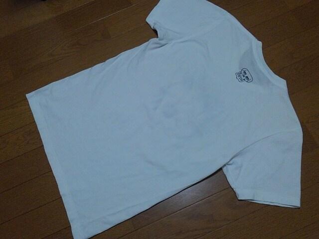 ★Ed Hardy/エドハーディ★モヒカンスカル半袖Tシャツ★サイズS★白 < ブランドの