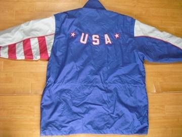 チャンピオン オリンピック USAチーム ジャケット USA−XL