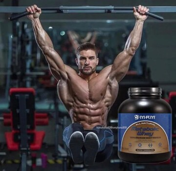 脂肪を付けずに筋肉増強!MRM メタボリック 100%ホエイ プロテイン 特大2.3kg