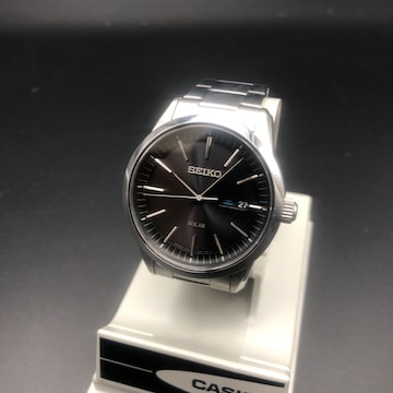 即決 SEIKO セイコー ソーラー 腕時計 V158-0AM0