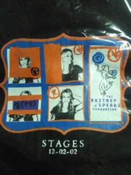 ブリトニースピアーズ ローソン 限定 Tシャツ STAGES ブラック Lサイズ