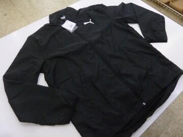 XL黒)プーマ★ウーブンジャケット 853727長袖 ACTIVE 防風 裏地メッシュ
