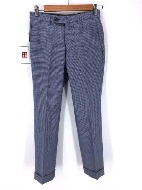 INCOTEX(インコテックス)総柄ウールパンツスラックスパンツ  < 男性ファッションの