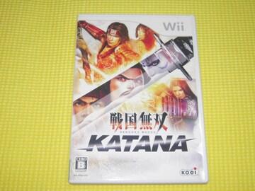 Wii★戦国無双 KATANA★箱付・説明書付・ソフト付