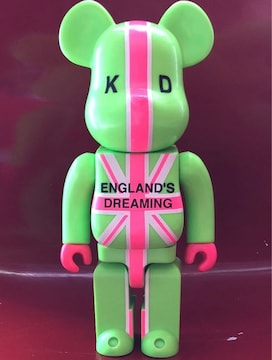 《ENGLAND'S DREAMING KD》400% ベアブリック キューブリック
