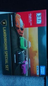 トミカ ランボルギーニ スペシャルセット 4台set 未開封 新品 set限定色