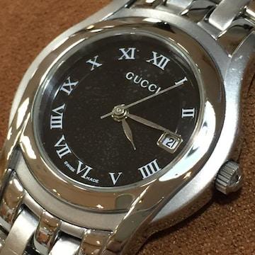 【美品】GUCCI 正規レディース腕時計 5500L