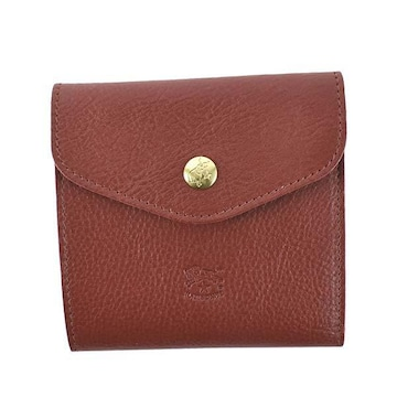 ◆新品本物◆イルビゾンテ 2つ折財布(RED)『C0424』◆