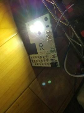 LEDホワイト 加工