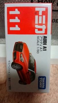 トミカ 旧111 販売終了品 アウディ A1 初回箱 未開封 新品