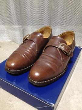 Lloyd ロイドフットウェア レザーシューズ 革靴 UK6 24.5cm E 茶 ベルト 英国製