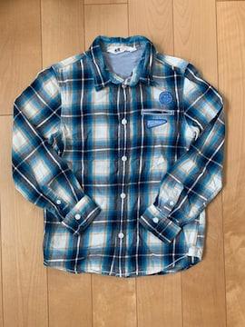 エイチアンドエム チェックシャツ130