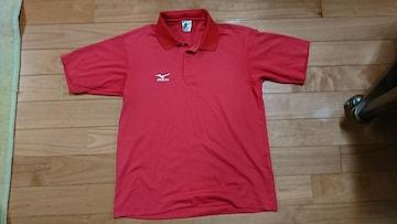 MIZUNO☆赤色*ポロシャツ☆テニス