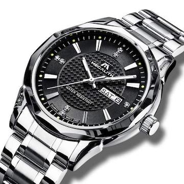 腕時計 メンズ時計防水 ステンレス SM