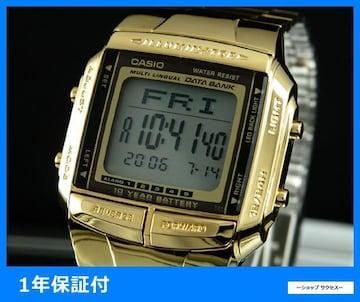 新品 即買い■カシオ データバンク 腕時計 ゴールド DB360G-9A