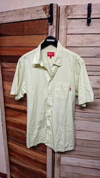 シュプリーム/SUPREME 半袖シャツ カラーシャツ L