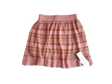新品 定価9975円 ジルスチュアート ニット フレア ミニ スカート