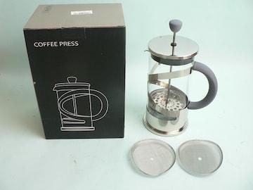 フレンチプレスコーヒー&ティーメーカー・替えネット2枚付