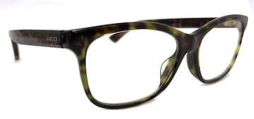 新品同様正規グッチ眼鏡メガネフレームGG01620ロゴべっ甲