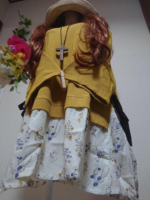★新品6L★レイヤード風チュニ  < 女性ファッションの