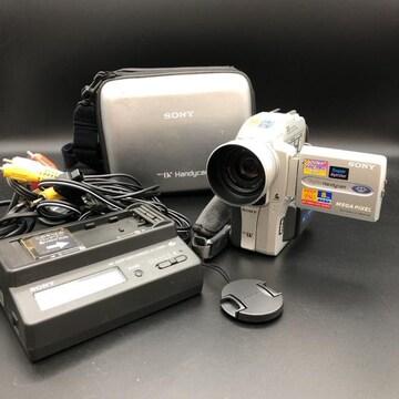 即決 SONY ソニー ハンディカム ビデオカメラ DCR-PC110