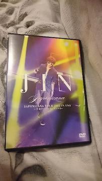 赤西仁「JIN AKANISHI JAPONICANA TOUR 2012 IN USA」DVD