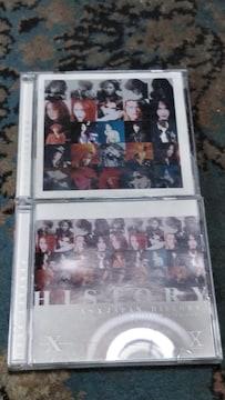 X Japan PERFECT BEST 3枚組ベスト 難あり