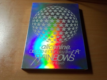 Alice Nineアリス九號DVD「DISCOTHEQUE play like A RAINBOWS