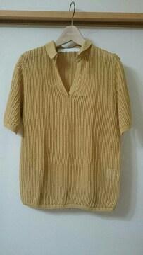 ユニクロ×ルメール  メッシュポロシャツ