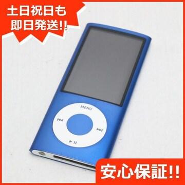 ●安心保証●美品●iPOD nano 第5世代 8GB ブルー●