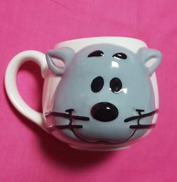 ファーロンレリーフフェイスマグカップコップSNOOPYFARON猫ネコグッス限定スヌーピータウン