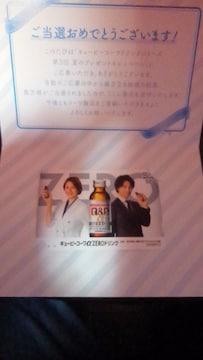 米倉涼子&斎藤工のQUOカード(500円分)