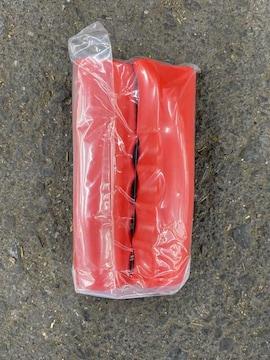 一輪車用専用!握りグリップ2個入り☆赤色