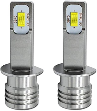 NOVSIGHT H1 LEDフォグランプ 22W 1800LM 6000K-6500K DC12-24V