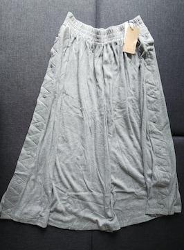 LL★LARU★サイドボタンロングスカート★大きいサイズ★