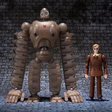 天空の城ラピュタ≪ロボット兵&ムスカ≫彩色フィギュア♪