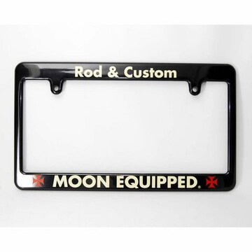 ムーンアイズ ライセンスフレーム Rod & Custom MG057RC