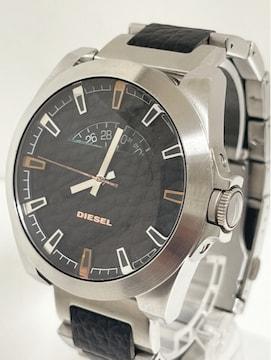 T298MBR★美品 DIESEL ディーゼル アナログ 腕時計 DZ-1721