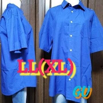 XL/Men's☆GU半袖シャツ,Yシャツ