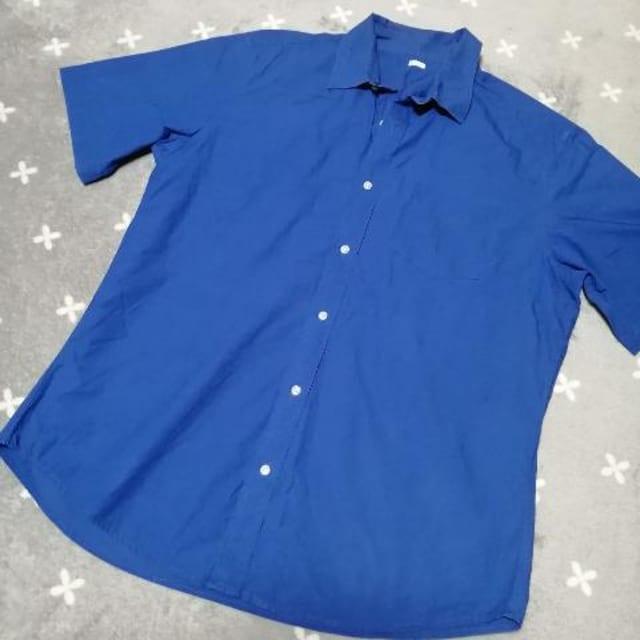 XL/Men's☆GU半袖シャツ,Yシャツ < ブランドの