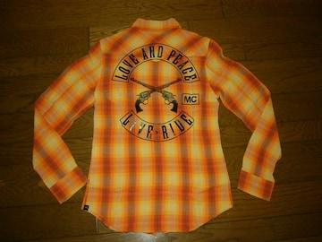 新品roarロアーウエスタンチェックシャツ40半額以下2丁拳銃